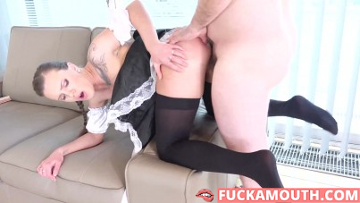young maid and her old daddy